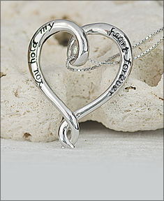 You Hold My Heart Forever Pendant