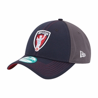 Indy Eleven New Era 9FORTY® Team Cap - Navy/Graphite