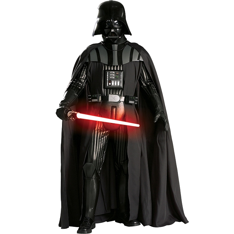 low price on a lifelike star wars darth vader supreme edition costume pop culture costumes direct. Black Bedroom Furniture Sets. Home Design Ideas