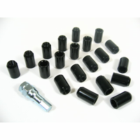 20 Nippon Racing Open Ended Forged Steel Lightweight Wheel Lug Nuts M12 x 1.5mm