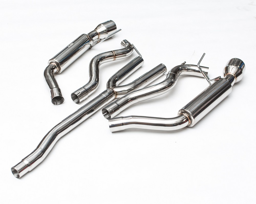 agency power race tuned catback exhaust ford mustang