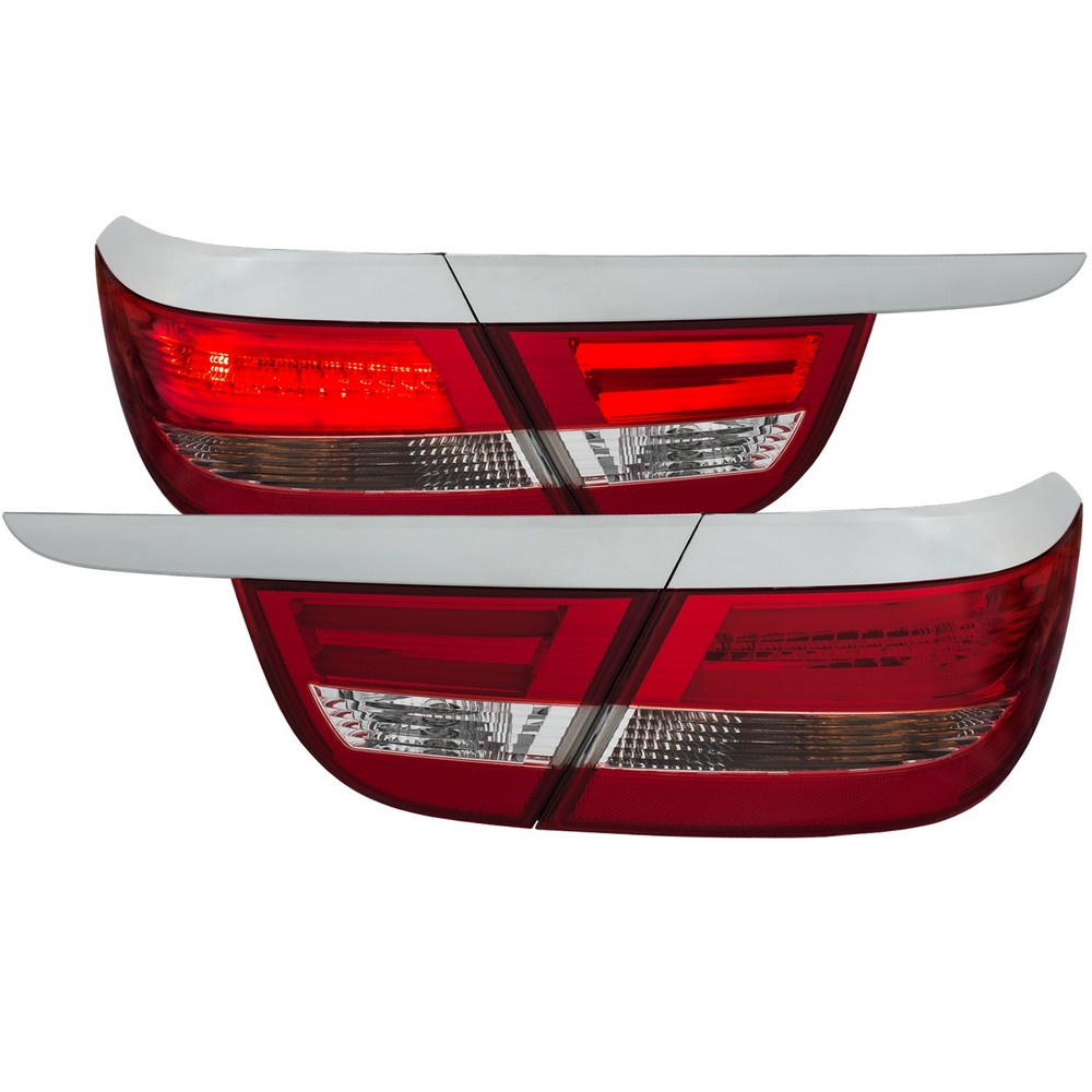 Anzo Led Taillights Chrome 2012 2015 Buick Verano 4dr
