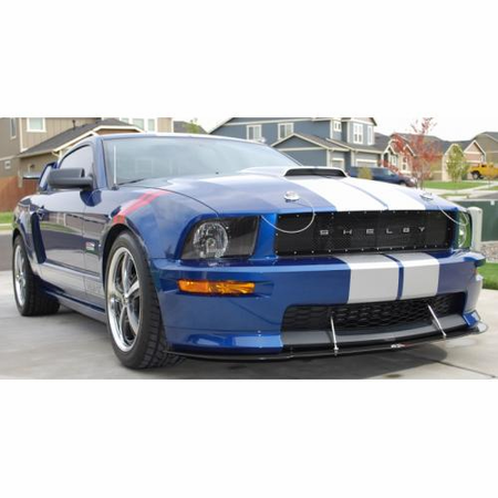 apr ford mustang gt california special front wind splitter 2005 2009 front wind splitters. Black Bedroom Furniture Sets. Home Design Ideas