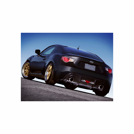 Borla 2013 Scion FR-S/ Subaru BRZ Exhaust Diffuser - fits 2.0L Auto/Manual Trans RWD 2 Door part # 77012