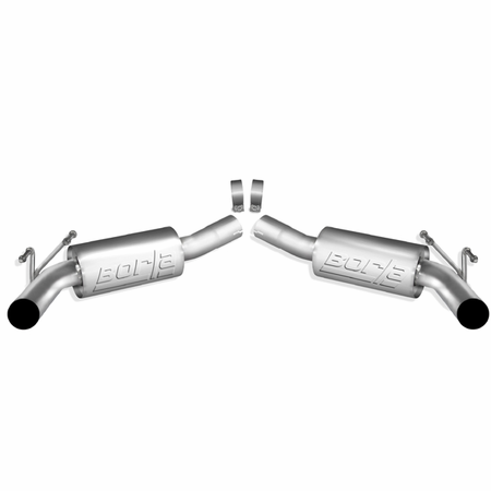 Borla Camaro SS w/Ground Effects Package 2010-2013 Rear Section Exhaust ATAK part # 11794