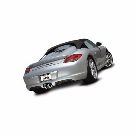 Borla Cayman/ CaymanS/ Boxster/ Boxster S 2009-2012 Cat-Back Exhaust part # 12659
