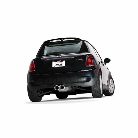 Borla Mini Cooper S, Conv. S, Coupe S, Roadster S 2007-2014 Cat-Back Exhaust Touring part # 140518