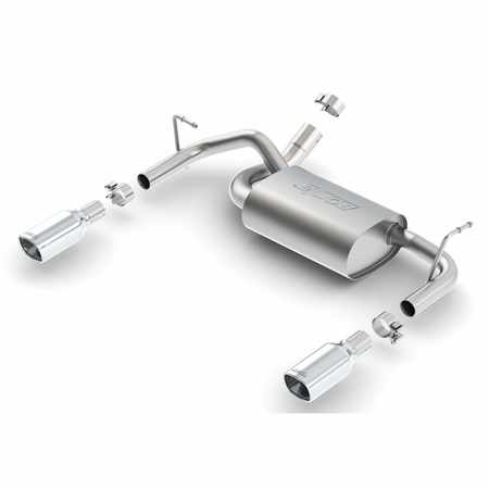 Borla Wrangler JK 2 & 4 door 2012-2014 Rear Section Exhaust Touring part # 11834