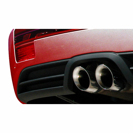 "CORSA 2.5"" Dual Center Rear Cat-Back Exhaust 2006-2010 Jeep Grand Cherokee 6.1L SRT8 V8"