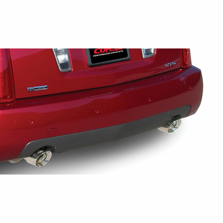 """CORSA 2.5"""" Dual Rear Axle-Back Exhaust 2005-2007 Cadillac STS 4.6L"""