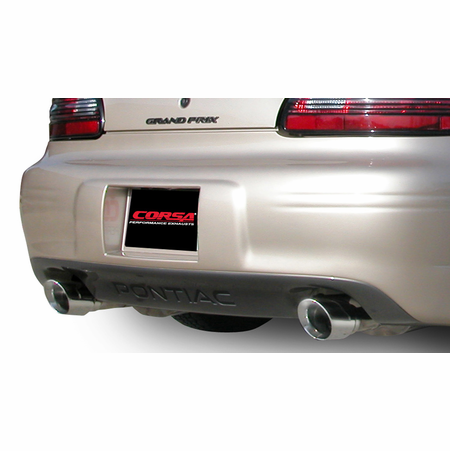 "CORSA 2.5"" Dual Rear Cat-Back Exhaust 1997-2002 Pontiac Grand Prix"
