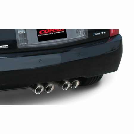 "CORSA 2.5"" Dual Rear Cat-Back Exhaust 2004-2006 Cadillac XLR 4.6L"