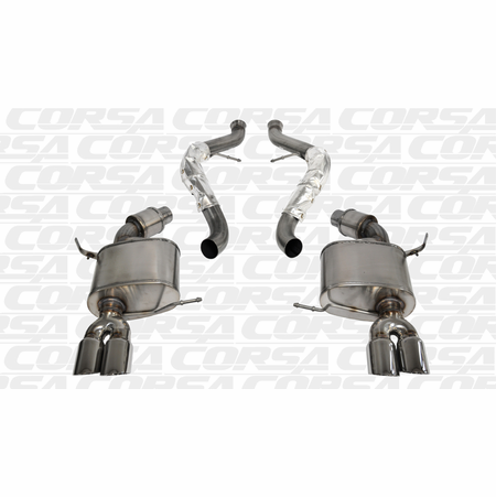 "CORSA 2.5"" Dual Rear Cat-Back Exhaust 2008-2012 BMW M3 E92 Coupe"
