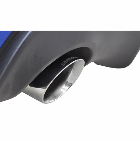 "CORSA 2.5"" Dual Rear Cat-Back Exhaust 2012-2014 Subaru BRZ Coupe 2.0L"