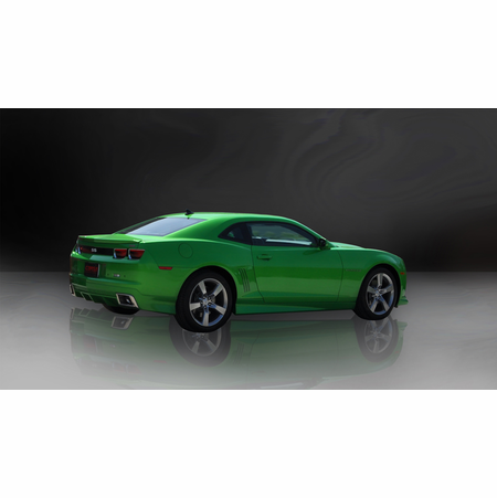 """CORSA 2.5"""" Dual Rear Cat-Back Exhaust + X-Pipe 2010-2013 Chevrolet Camaro SS Coupe 6.2L V8 Auto"""