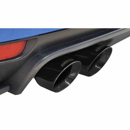 "CORSA 3.0"" Dual Rear Cat-Back Exhaust 2011-2013 Subaru Impreza WRX Hatchback 2.5L Turbo Auto"