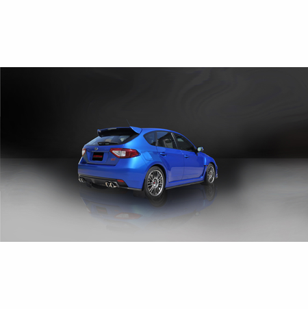 "CORSA 3.0"" Dual Rear Cat-Back Exhaust 2011-2013 Subaru Impreza WRX Hatchback 2.5L Turbo Manual"