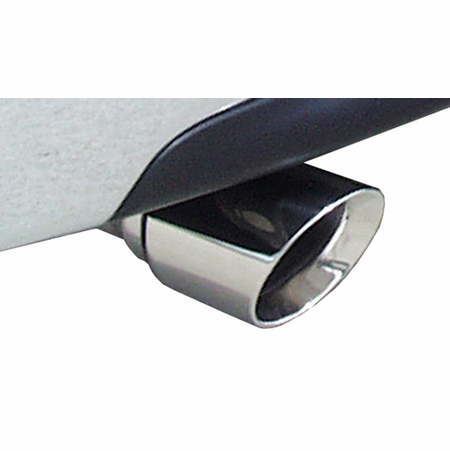 "CORSA 3.0"" Dual Rear Cat-Back Exhaust 2009-2009 GMC Sierra 1500 Extended Cab/Standard Bed 5.3L V8 143.5"""