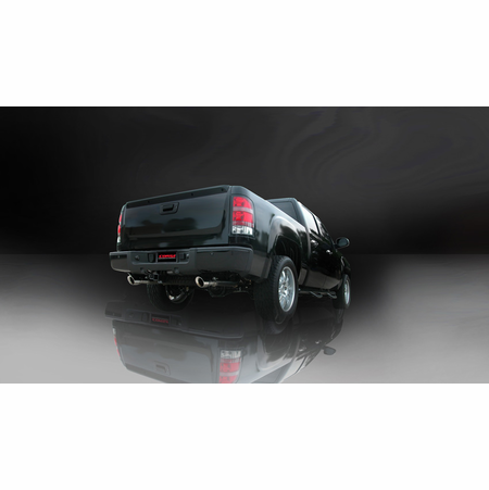 "CORSA 3.0"" Dual Rear Cat-Back Exhaust 2010-2010 GMC Sierra 1500 Extended Cab/Standard Bed 6.2L V8 143.5"""