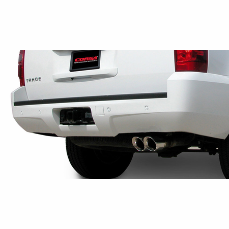 "CORSA 3.0"" Single Rear Cat-Back Exhaust 2007-2008 Chevrolet Tahoe 5.3L V8"