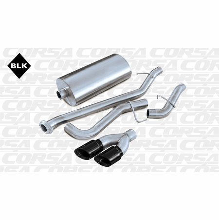 "CORSA 3.0"" Single Side Cat-Back Exhaust 2002-2006 GMC Yukon XL Z71 5.3L V8"