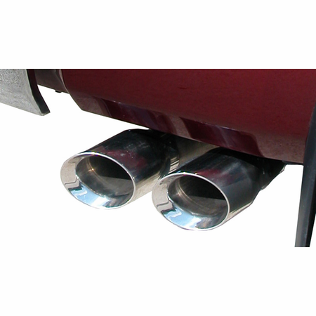 "CORSA 3.0"" Single Side Cat-Back Exhaust 2007-2008 Toyota Tundra Double Cab/Crew Max 5.7L V8"