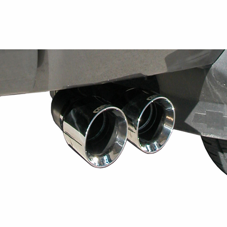 "CORSA 3.0"" Single Side Cat-Back Exhaust 2009-2009 Chevrolet Silverado 1500 Crew Cab/Short Bed 4.8L V8 143.5"""