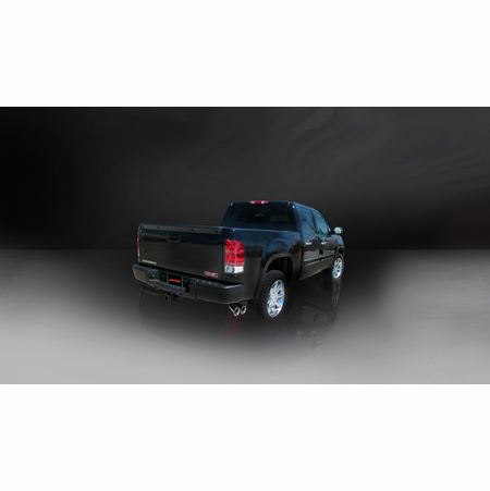 "CORSA 3.0"" Single Side Cat-Back Exhaust 2010-2010 GMC Sierra Denali 1500 Extended Cab/Standard Bed 6.2L V8 143.5"""