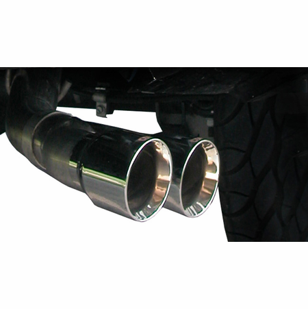 "CORSA 3.0"" Single Side Cat-Back Exhaust 2010-2010 Chevrolet Silverado 1500 Extended Cab/Standard Bed 6.2L V8 143.5"""