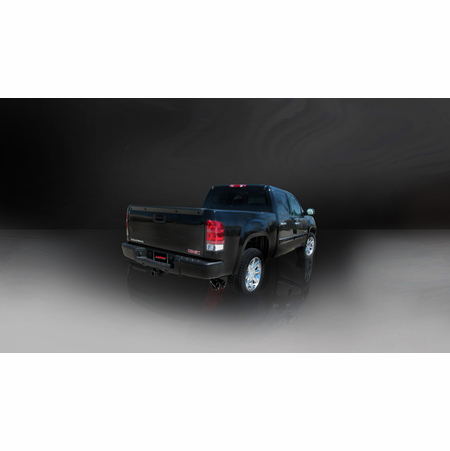 "CORSA 3.0"" Single Side Cat-Back Exhaust 2010-2013 Chevrolet Silverado 1500 Crew Cab/Short Bed 5.3L V8 143.5"""