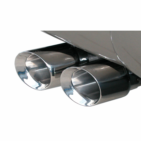 "CORSA 3.0"" Single Side Cat-Back Exhaust 2011-2014 Cadillac Escalade Escalade 6.2L V8"