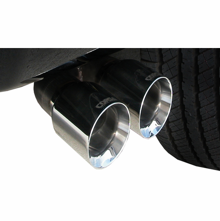 """CORSA 3.0"""" Single Side Cat-Back Exhaust 2011-2014 Ford F-150 6.2L V8 144.5"""""""