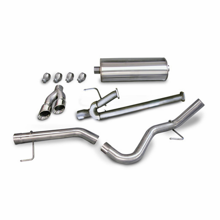 "CORSA 3.0"" Single Side Cat-Back Exhaust 2011-2014 Toyota Tundra Double Cab/Crew Max 5.7L V8 145.7"""