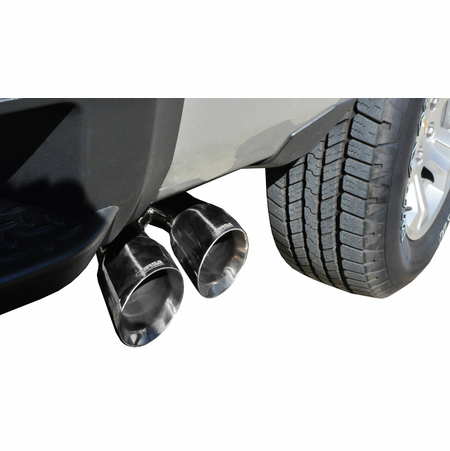 "CORSA 3.0"" Single Side Cat-Back Exhaust 2014-2014 GMC Sierra 1500 Crew Cab/Standard Bed 5.3L V8 Manual 153"""