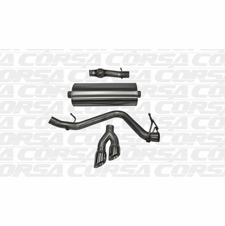 "CORSA 3.0"" Single Side Cat-Back Exhaust 2014-2014 GMC Sierra 1500 Regular Cab/Standard Bed 5.3L V8 Manual 119"""