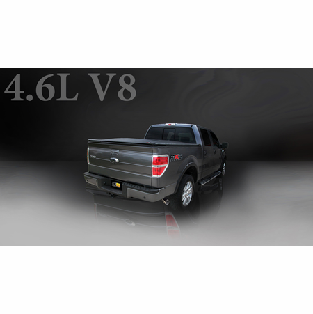 """CORSA/dB 3.0"""" Single Side Cat-Back Exhaust 2006-2008 Ford F-150 SuperCab/6.5' Bed 4.6L V8"""