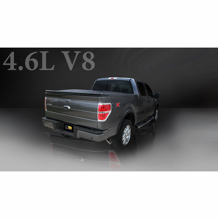 """CORSA/dB 3.0"""" Single Side Cat-Back Exhaust 2006-2008 Ford F-150 SuperCrew/6.5' Bed 5.4L V8"""