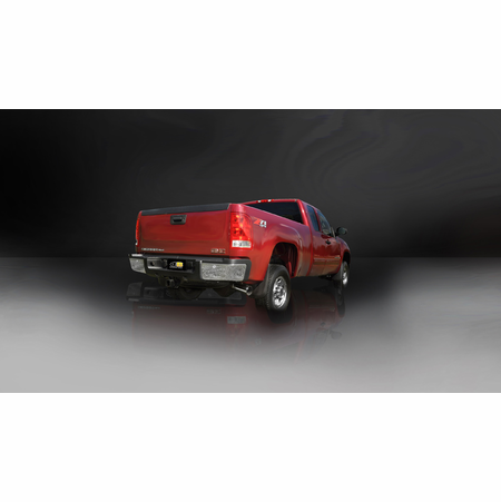 "CORSA/dB 3.0"" Single Side Cat-Back Exhaust 2007-2010 GMC Sierra 2500 Crew Cab/Long Bed 6.0L V8 167"""