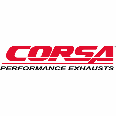 "CORSA 2.5"" Dual Rear Axle-Back Exhaust 2005-2007 Cadillac STS 4.6L"