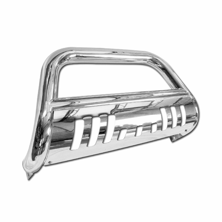 DFJ 11-14 JEEP GRAND CHEROKEE (EXCL. SRT, SUMIT, TRAIL HAWK, AND MODELS ACTIVE CRUISE CONTROL) BULL GUARD (CHROME)