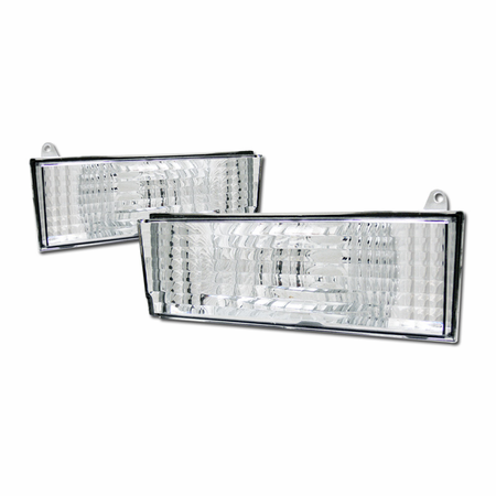 DFJ 84-96 JEEP CHEROKEE BUMPER LIGHTS (EURO)
