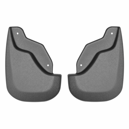 Husky Custom Mud Guards Front Mud Guards Black   Ford Edge Edge With Standard