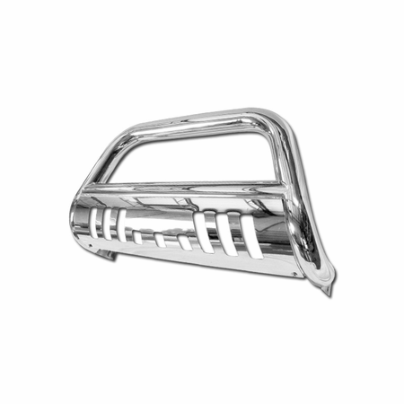 DFJ 08-09 RAM EXTREME DUTY 4500/5500 201 STAINLESS STEEL BULL GUARD (CHROME)
