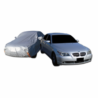 DFJ 4900*1800*1500 WATER PROOF CAR COVER W/ MIRROR POCKETS (FITS E430, 530I, A6, ACCORD, GS) (X LARGE)