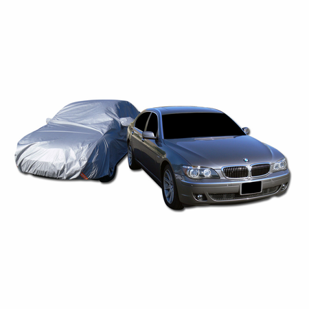 DFJ 5400*1800*1500 WATER PROOF CAR COVER W/ MIRROR POCKETS (FITS S500, A8, 740I, LS460) (XX LARGE)