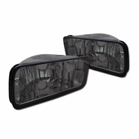 DFJ 85-92 CHEVY CAMARO BUMPER LIGHTS (SMOKE)