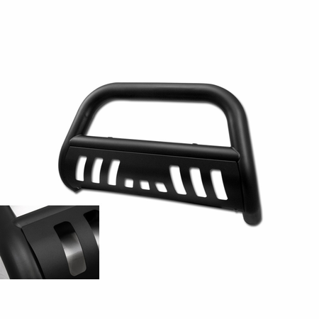 DFJ 99-06 TOYOTA TUNDRA (ALSO FIT 01-07 SEQUOIA) STAINLESS STEEL BULL GUARD (MATTE BLACK)