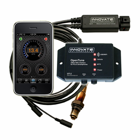 Innovate Motorsports OT-2 Opentune OBD-II/CAN Interface w/LC-2 & O² Sensor
