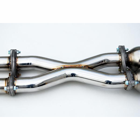 Invidia Gemini Rolled Stainless Steel Tips Cat-Back Exhaust for 03-06 Infiniti G35 Coupe