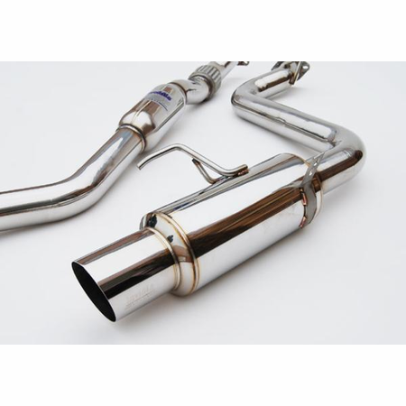 Invidia N1 Stainless Steel Tip Cat-Back Exhaust 08-14 Subaru WRX 4DR